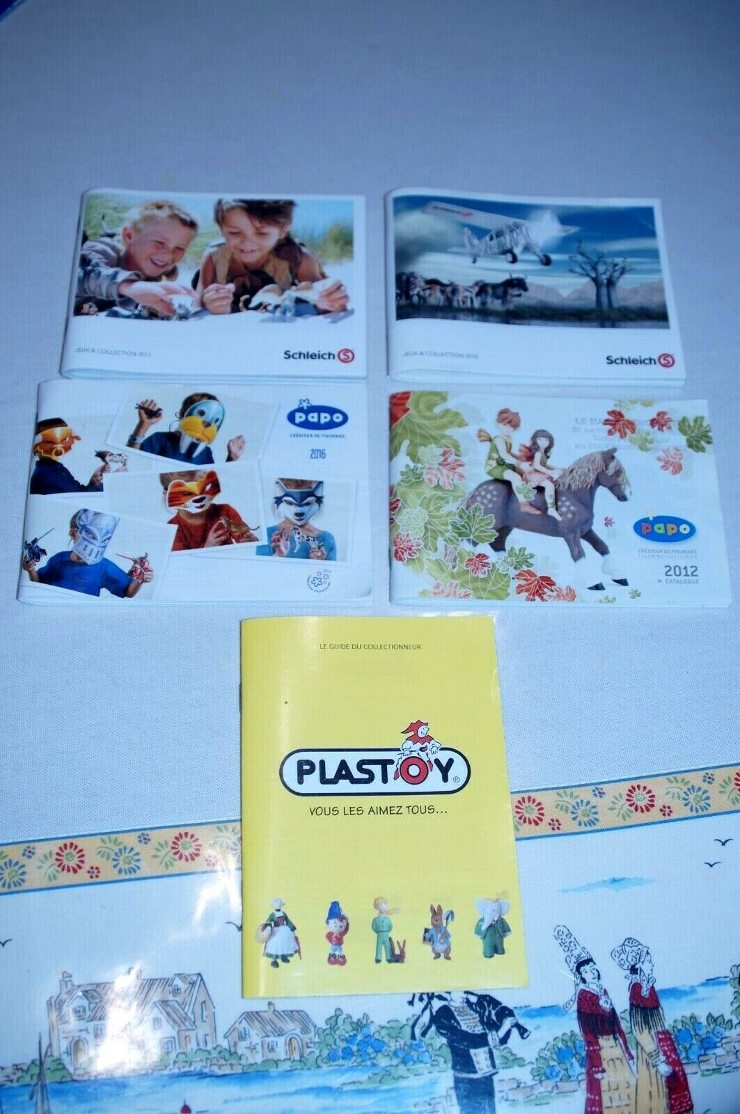 Catalogues  schleich  papo  plastoy  figurines animaux