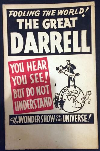 Original Darrell Window Card