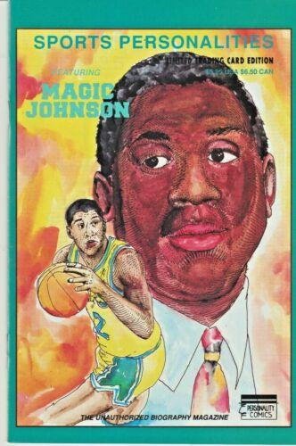 "SPORTS PERSONALITIES #4 ""MAGIC"" JOHNSON  TRADING CARD EDITION 1991 NICE!!!"