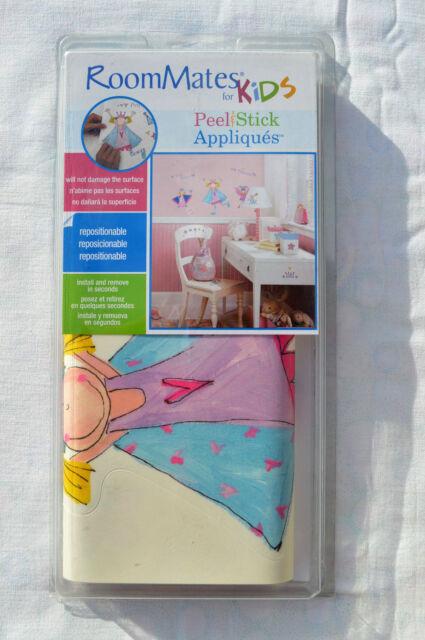 Room Mates Wandtattoo Kids Wand 23 Sticker Fee Prinzessin York selbstklebend