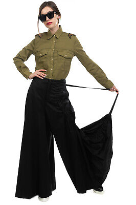 RRP €585 1017 ALYX 9SM Trousers Size S Strap Back Wide Leg Made in Italy