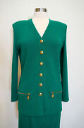 St.john Knit Suit Size 6