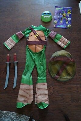 Deluxe Leonardo Kids Costume Teenage Mutant Ninja Turtles TMNT Kids Sword Katana - Tmnt Costume Kids