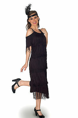 Halloween Party 1920's Deco Era Inspired Costume Flapper Plus Size Full Figure (Halloween 1920)