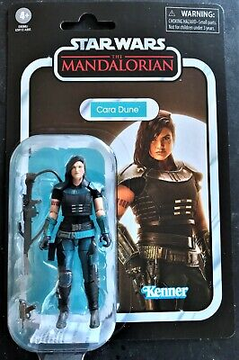 "Star Wars Vintage Collection Cara Dune The Mandalorian Hasbro 3.75"" Figure New"