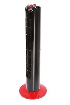 Torre Ventilador de Columna 80 cm oscilacion 70º 3 velocidades temporizador 6387
