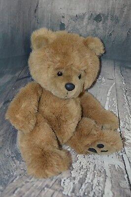 14  Brown Soft Teddy Bear Plush Stuffed Animal Black Foot Pads Dge Corp Kohls