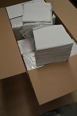 5000 White Napkins 1PLY ServiettesTissue Takeaway Restaurant Wholesale