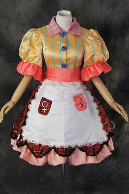 H-173 Alice Madness Returns Misstitched Cosplay Kostüm Kleid - Alice Madness Kostüm