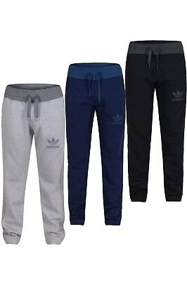 Mens Adidas Originals Fleece Joggers Tracksuit Bottoms Track Sweat Joggers SMLXL