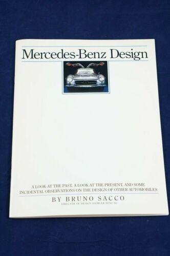 1988 Mercedes Benz Design by Bruno Sacco Dealer Marketing Booklet