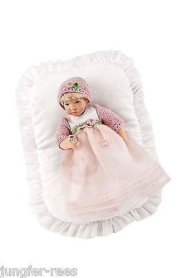 Käthe Kruse Puppe 25475 Rosa offene Augen Däumlinchen 25cm NEU