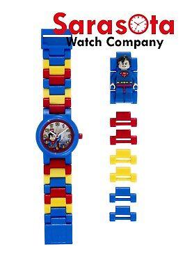 LEGO® 8020257 DC Universe™ Super Heroes Superman™ Minifigure Link Kid's Watch