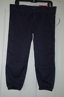 Champro Sprots Girls/Women's Softball Pant Navy Blue low rise M/Medium Dri-Gear