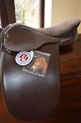 "E Jeffries Falcon 16"" Showing Saddle Wide/X Wide Sound Tree"