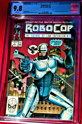 *RoboCop #1***The Future of Law Enforcement***Based on the major motion picture*