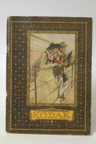F66538~1913 CANADIAN EASTMAN KODAK PRODUCT CATALOG – Clean 64 Pgs