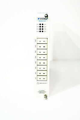 National Instruments Ni Scxi-1112 8-channel Temperature Input Module For Scxi
