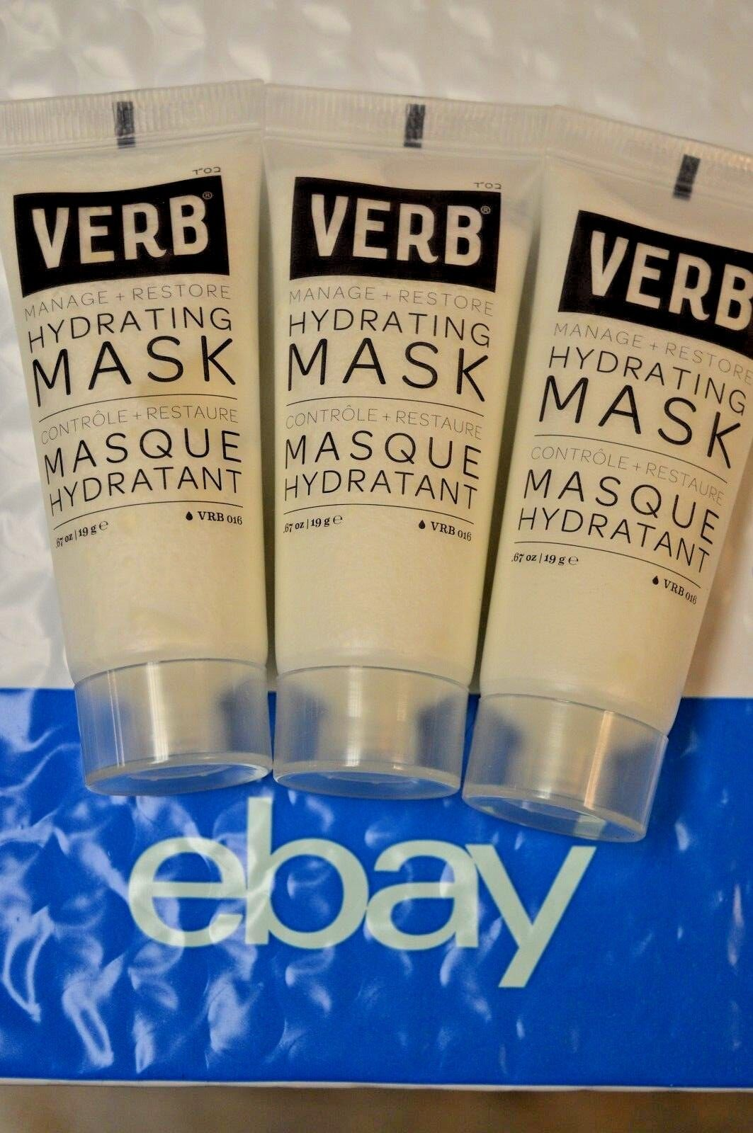 3X VERB Manage + Restore Hydrating Mask for Hair Travel Size