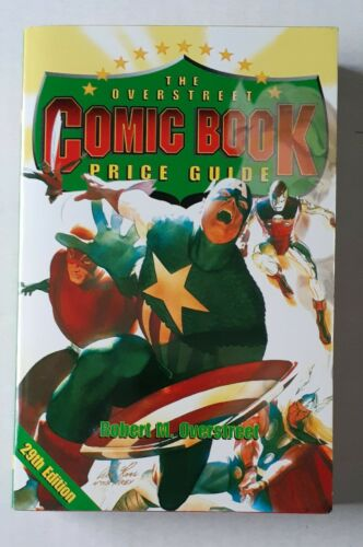 OVERSTREET COMIC BOOK PRICE GUIDE 29 NM/M UNREAD WHITE PAGES! Avengers 1999