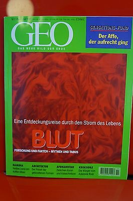 GEO Das neue Bild der Erde Nummer 11 1997  Blut Forschung Fakten Mythen Tabus