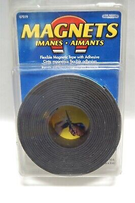 Magnet Source - Magnetic Tape Wadhesive 1 Wide X 10 Long - New-item No.07019