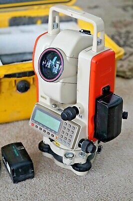 Pentax Pts-v Series Total Station Wdata Cable2batteries Lk