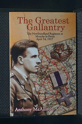 WW1 Newfoundland The Greatest Gallantry Reference Book