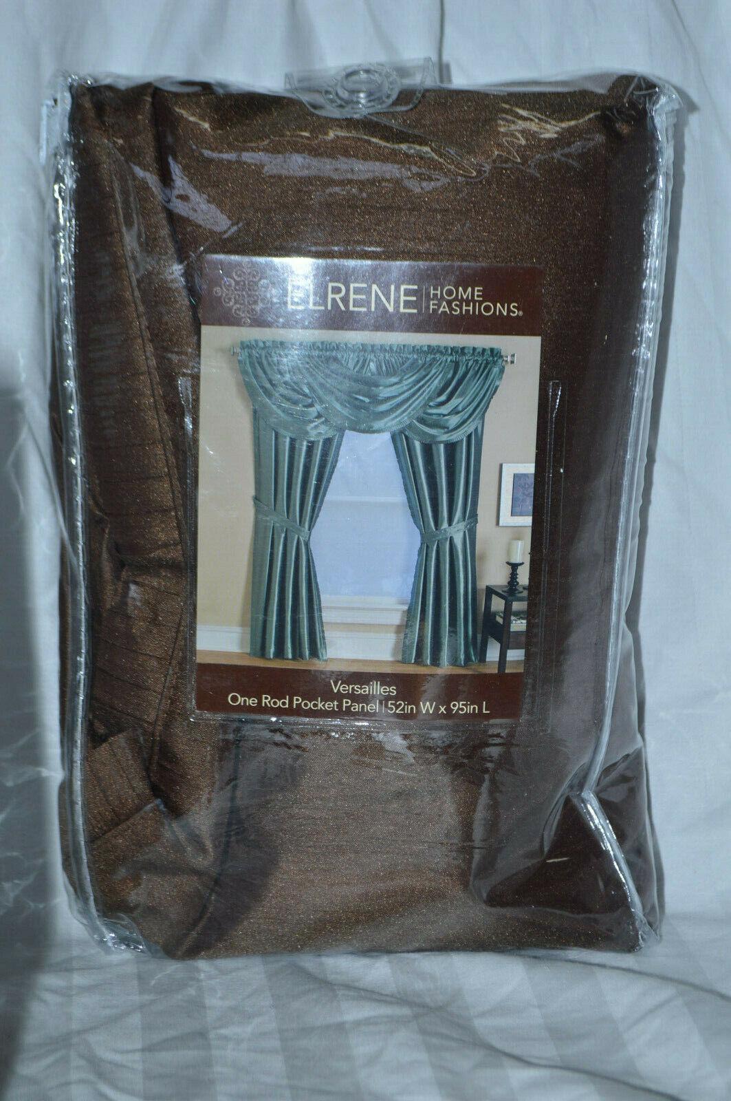 ELRENE Home Fashions Versailles Rod Pocket Panel Curtain 52i