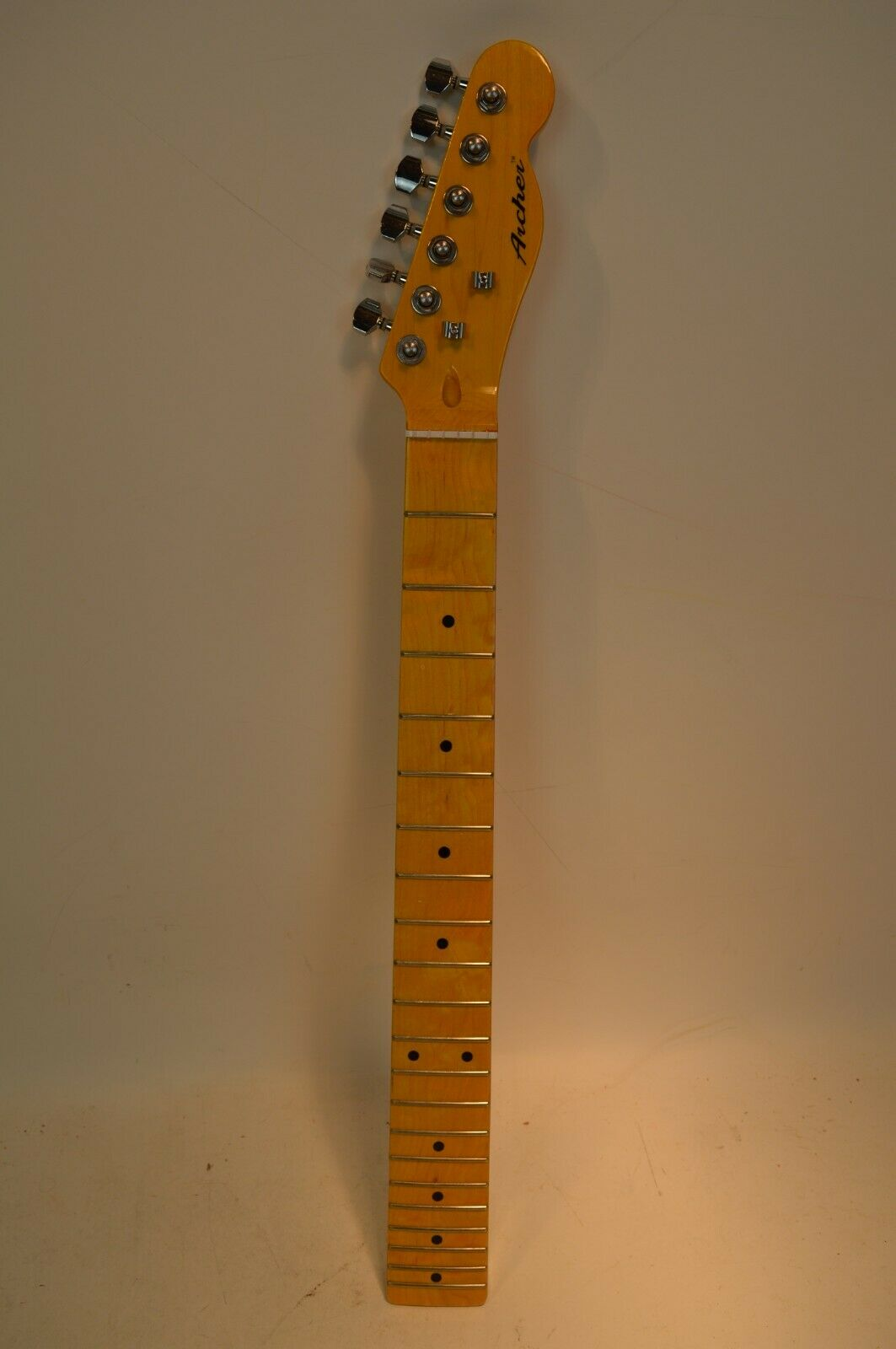 Telecaster Tele Neck Only With Locking Tuners Archer TT10 - $149.00