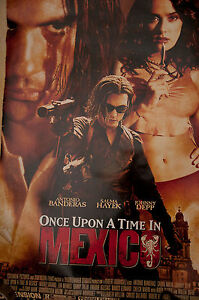 ANTONIO-BANDERAS-SIGNED-POSTER-ONCE-UPON-A-TIME-IN-MEXICO-UACC-REG-242
