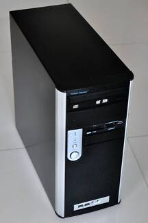 Quadcore 2.83GHz Genuine Windows 7 Pro desktop computer