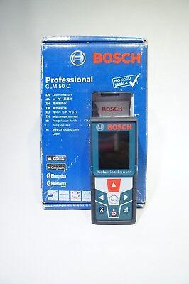 Bosch Glm 50 Laser Distance Measurer With 165-feet Range And Backlit Displh-43