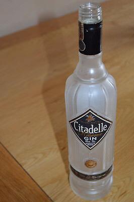 Citadelle Reserve Gin bottle 70cl - Upcycle Craft, wedding, decoration, garden