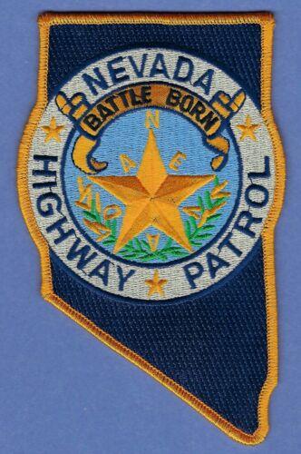NEVADA HIGHWAY PATROL POLICE SHOULDER PATCH
