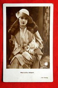 MARCELLA-ALBANI-1920-VINTAGE-POSTCARD-PHOTO-IRIS-5444-OLD-FASHION