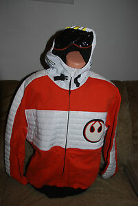 New Men's Star Wars Limited  Marc Ecko X Wing pilot Hoody  XL