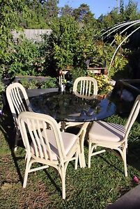 Free cane dining set Oakleigh Monash Area Preview