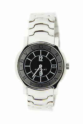 Bvlgari Solotempo Stainless Steel Watch ST35