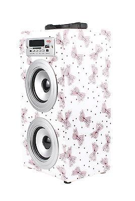 ALTAVOZ PORTATIL TORRE CAJA USB Radio FM Micro SD/TF MP3 Inalambrico Line...