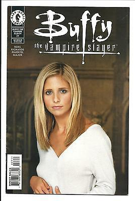 BUFFY THE VAMPIRE SLAYER # 27 (PHOTO COVER, NOV 2000), VFN
