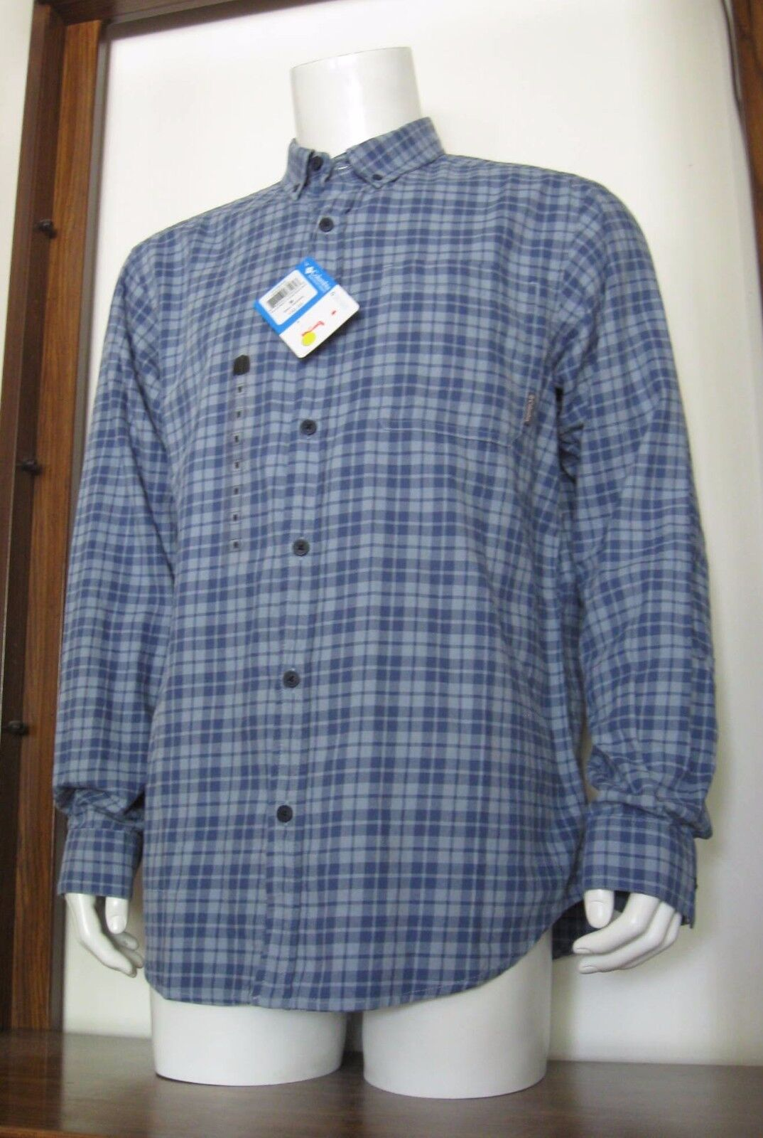 Columbia ~ Out and Back II Men/'s Button Down Shirt $50 NWT