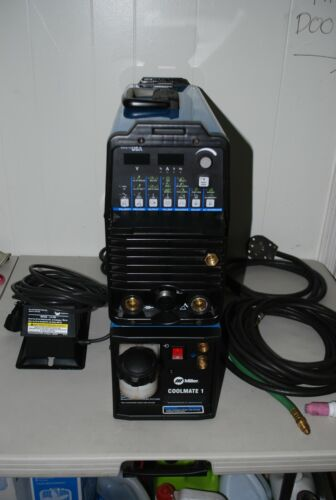 MILLER DYNASTY 200 DX WITH WATER COOLER & EXTRAS