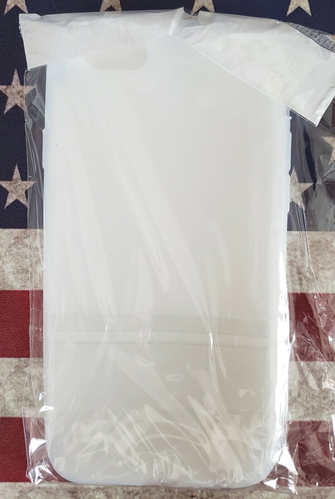 Iphone 6 Case Cover OnTek Clear / White Silicone New In Package - $6.99