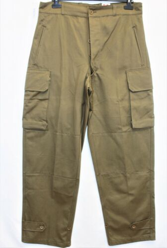 New Genuine Indochina French Army M47 HBT Cargo Pants /Trousers W36 L44