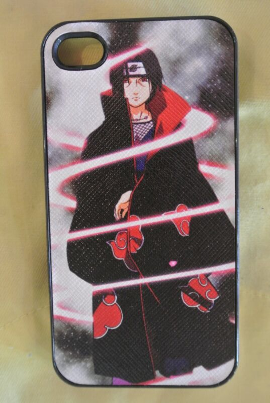 USA Seller Apple iPhone 4 & 4S  Anime Phone case Cover Cool Naruto Itachi Uchiha