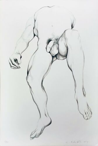"Lowell Nesbitt ""nude Male 6"" 1979 