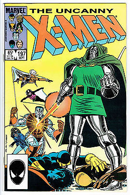 THE UNCANNY X-MEN ISSUE 197 BY MARVEL COMICS nm