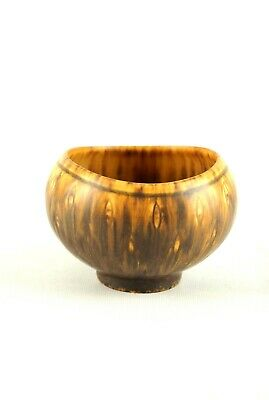 Gunnar NYLUND AUX Ceramic Bowl Rörstrand Sweden Danish Modern 50s 60s