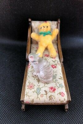 Vintage  - Chaise Lounge  Dolls house furniture